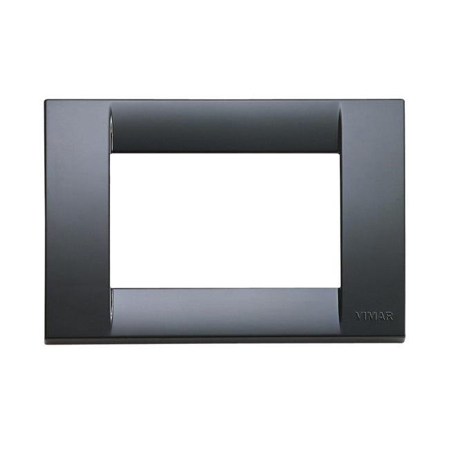 Placca Idea VIMAR 3 moduli grigio grafite - 1