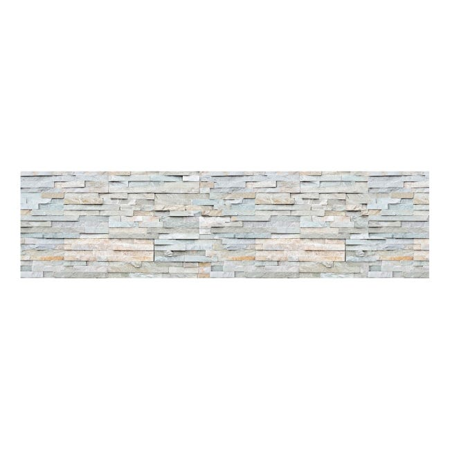 Sticker Backsplash stones 45x180 cm - 1