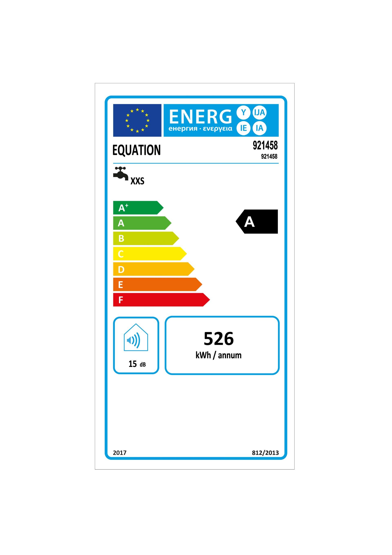 Scaldabagno elettrico EQUATION 921458 15 L 1200 W - 6