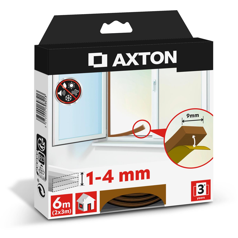 Guarnizione autoadesivo AXTON FLEX marrone - 1