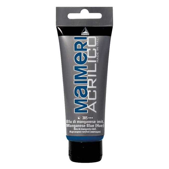 Colore acrilico MAIMERI 0.75 L blu manganese - 1
