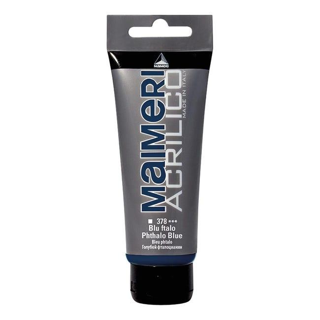 Colore acrilico MAIMERI 0.75 L blu ftalo - 1