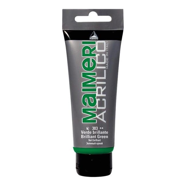 Colore acrilico MAIMERI 0.75 L verde brillante - 1