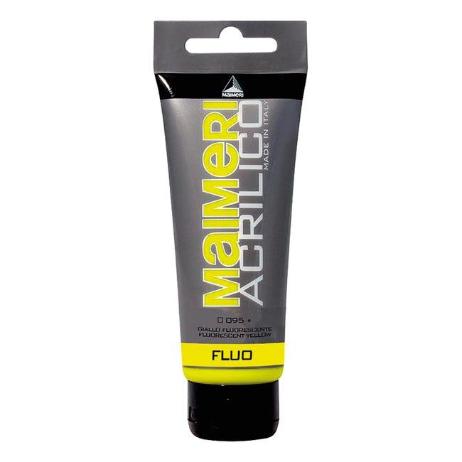 Colore acrilico MAIMERI 0.75 L giallo fluorescente - 1