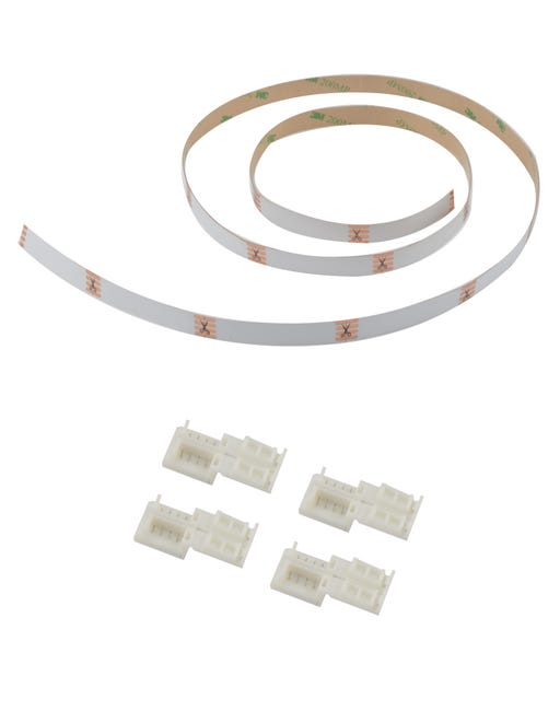 Connettore led strip, bianco, 1 m - 1