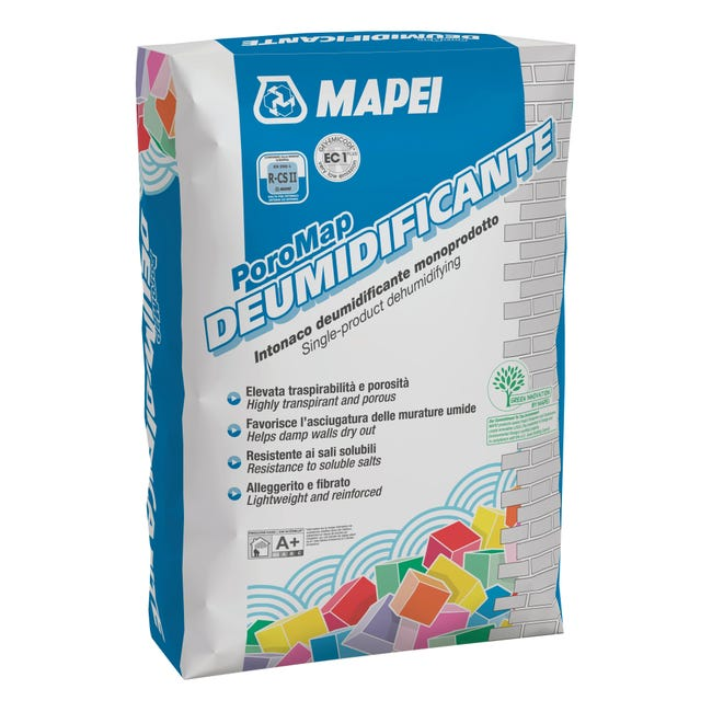 Intonaco Poromap deumidificante 20 kg - 1