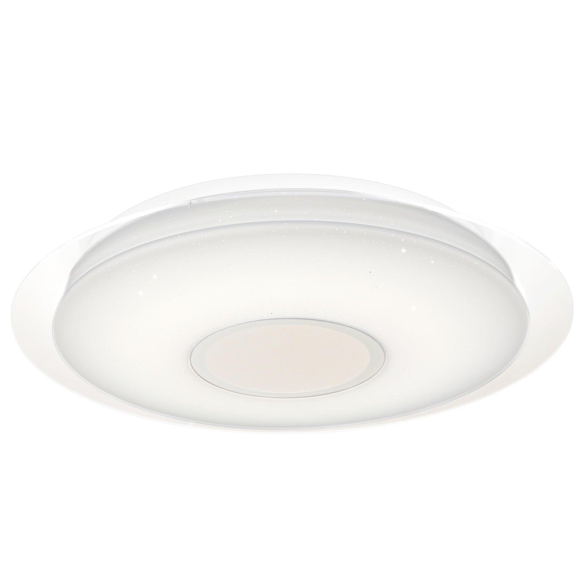 Plafoniera moderno Vizzini LED integrato bianco D. 40 cm 40x40 cm, INSPIRE - 4