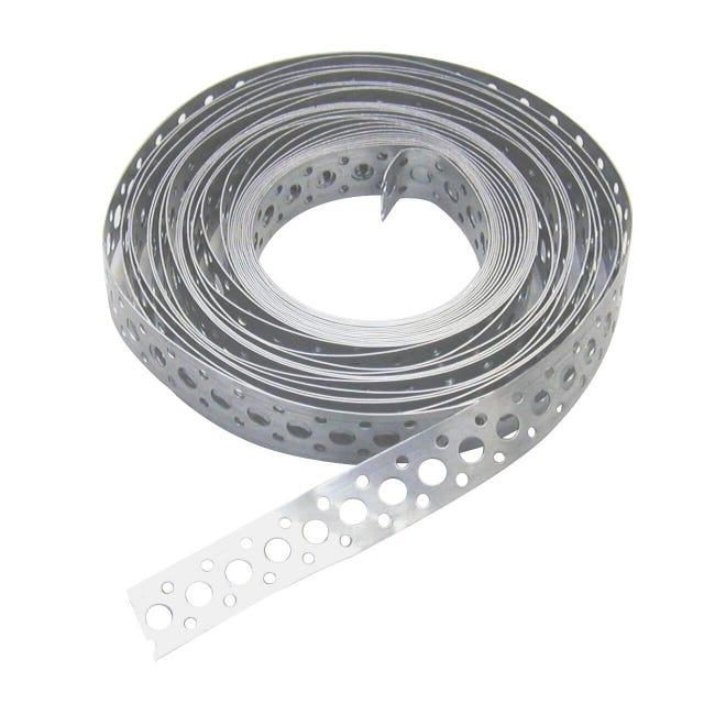 Lastra forata STANDERS in acciaio zincato L 1000 x Sp 0.7 x H 17 mm - 1