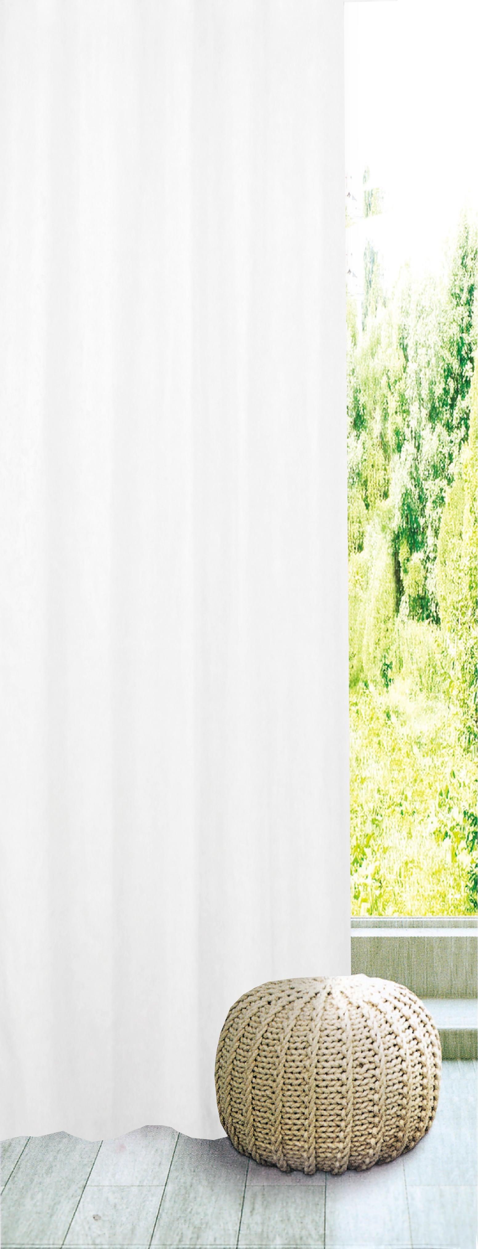 Tenda INSPIRE Charlina bianco passanti 140 x 280 cm - 6