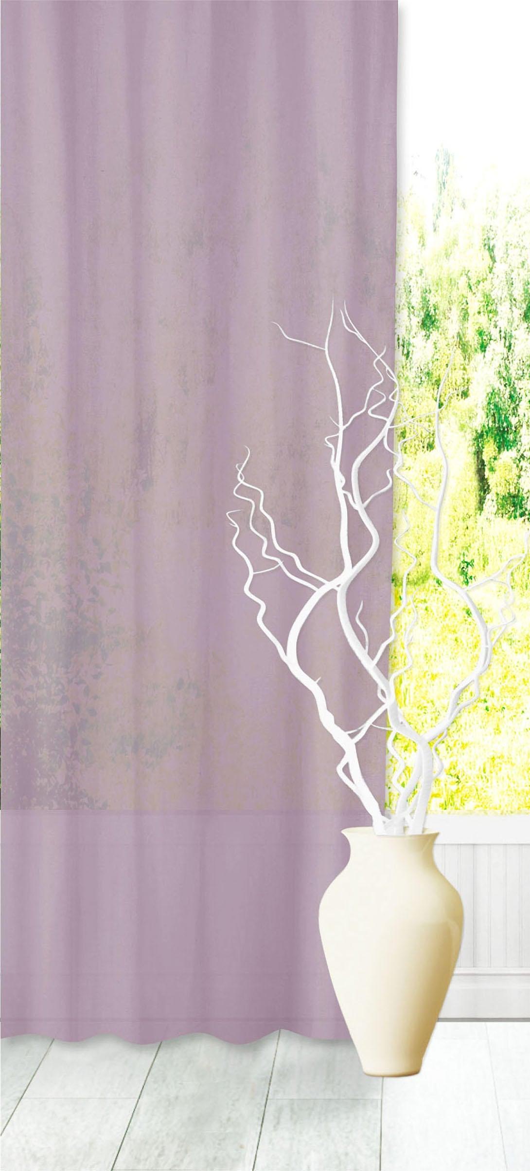 Tenda INSPIRE Abby viola fettuccia e passanti 200 x 280 cm - 3