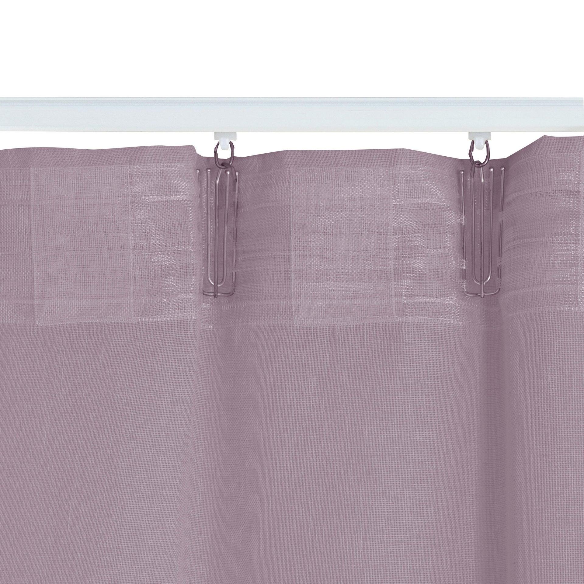 Tenda INSPIRE Abby viola fettuccia e passanti 200 x 280 cm - 4