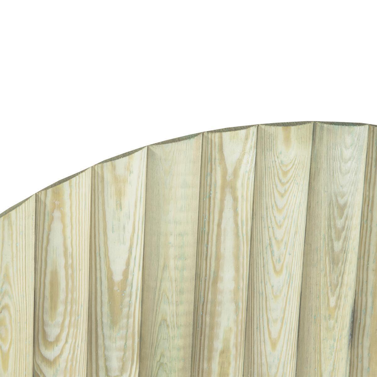 Bordo in legno L 55 x H 40 cm Sp 2.8 cm - 2