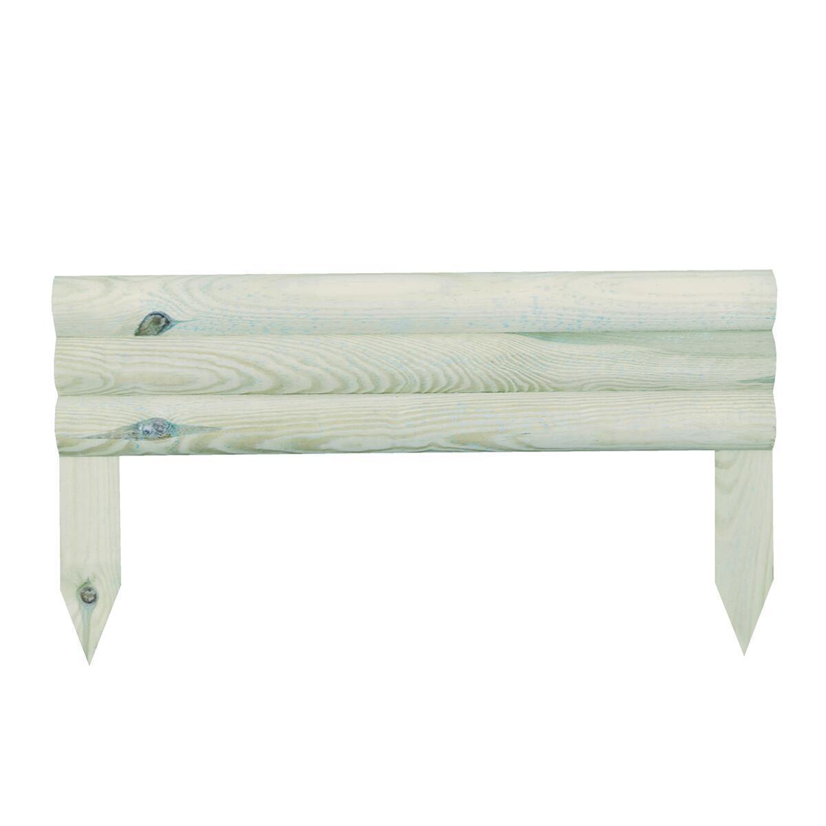 Bordo in legno L 55 x H 30 cm Sp 2.8 cm - 1