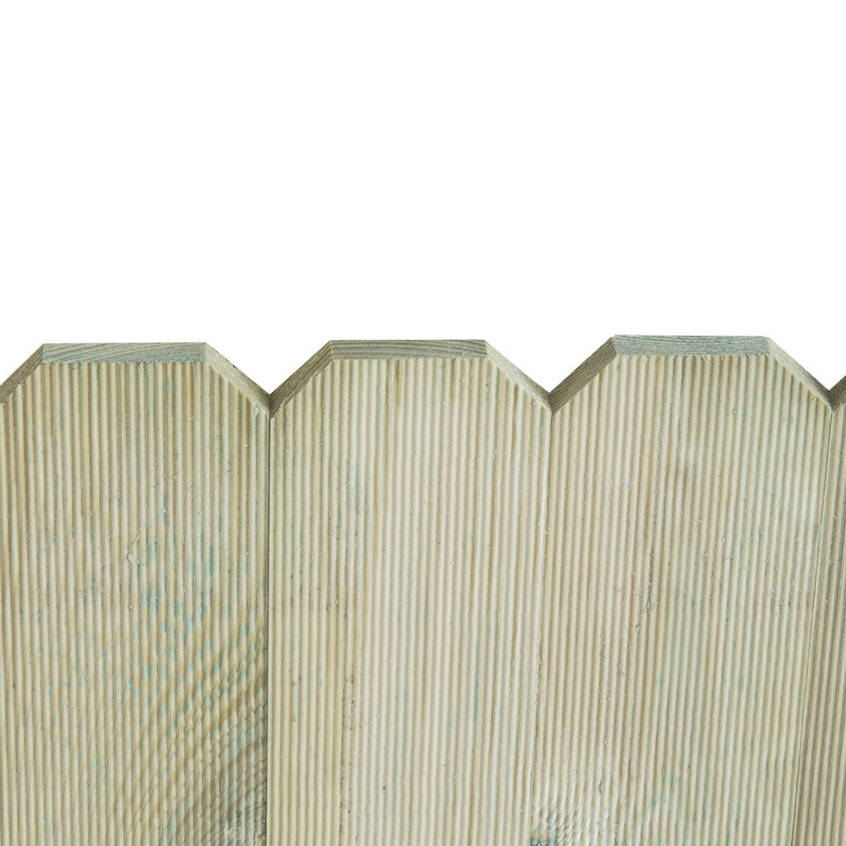Bordo in legno L 120 x H 45 cm Sp 3.1 cm - 2