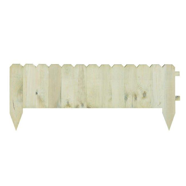 Bordo in legno L 120 x H 45 cm Sp 3.1 cm - 1