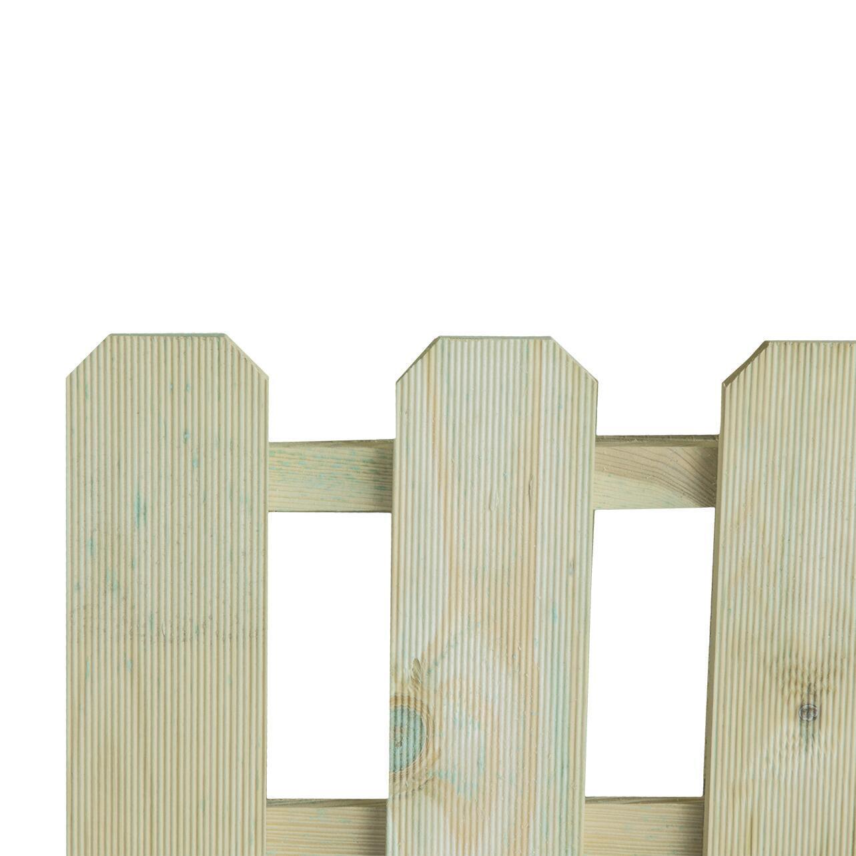 Bordo in legno L 120 x H 45 cm Sp 3.6 cm - 2