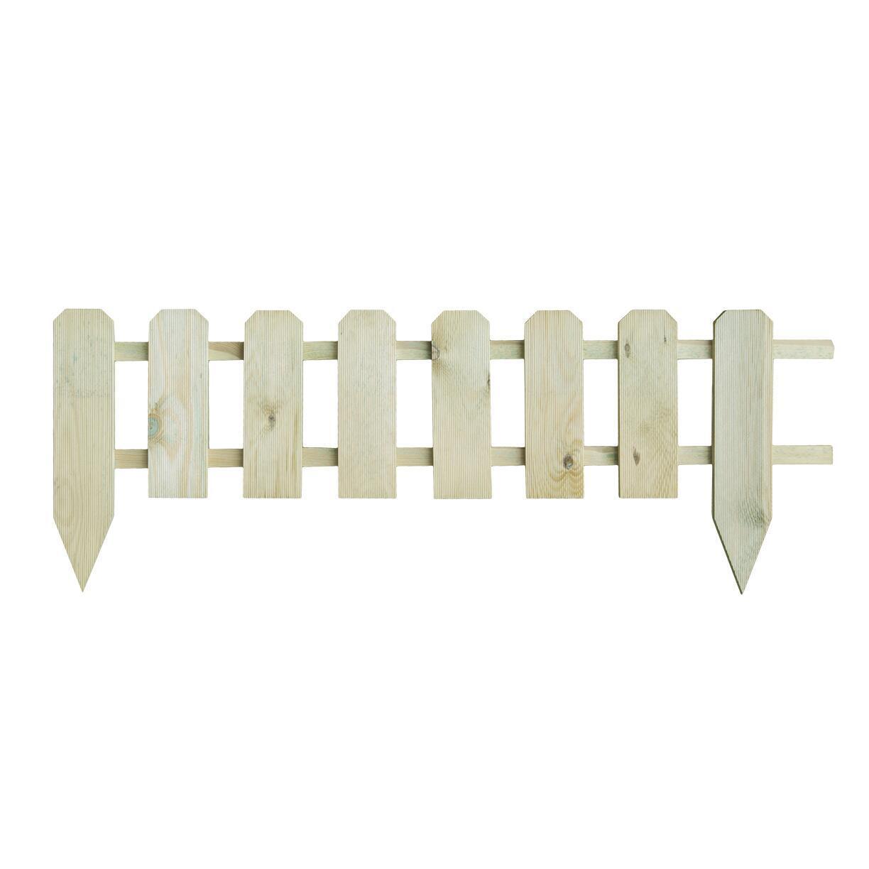 Bordo in legno L 120 x H 45 cm Sp 3.6 cm - 1