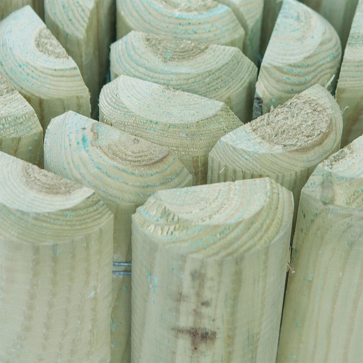 Bordura in rotolo in legno L 196 x H 30 cm Sp 3.5 cm - 2