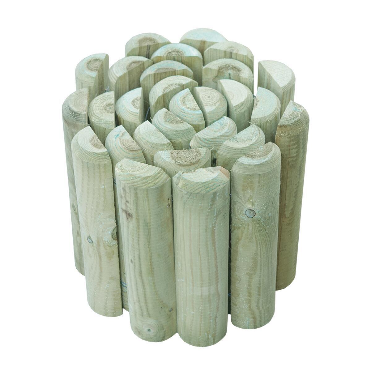 Bordura in rotolo in legno L 196 x H 30 cm Sp 3.5 cm - 1