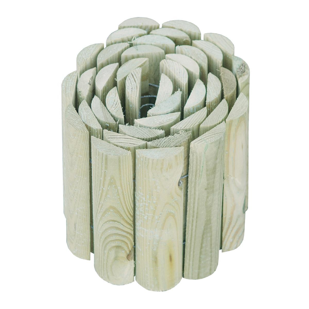 Bordura in rotolo in legno L 180 x H 20 cm Sp 1.4 cm - 1