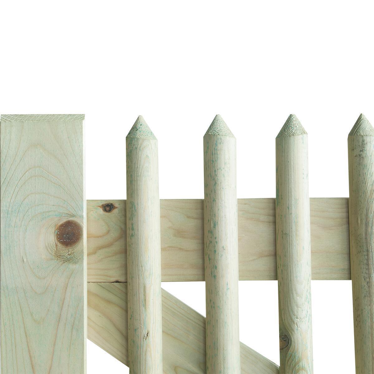 Cancelletto in legno L 1 x H 1 m - 2