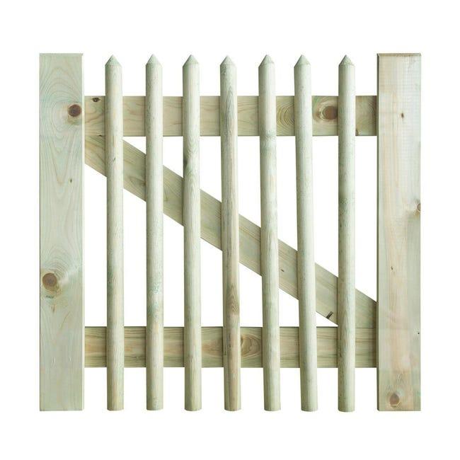 Cancelletto in legno L 1 x H 1 m - 1