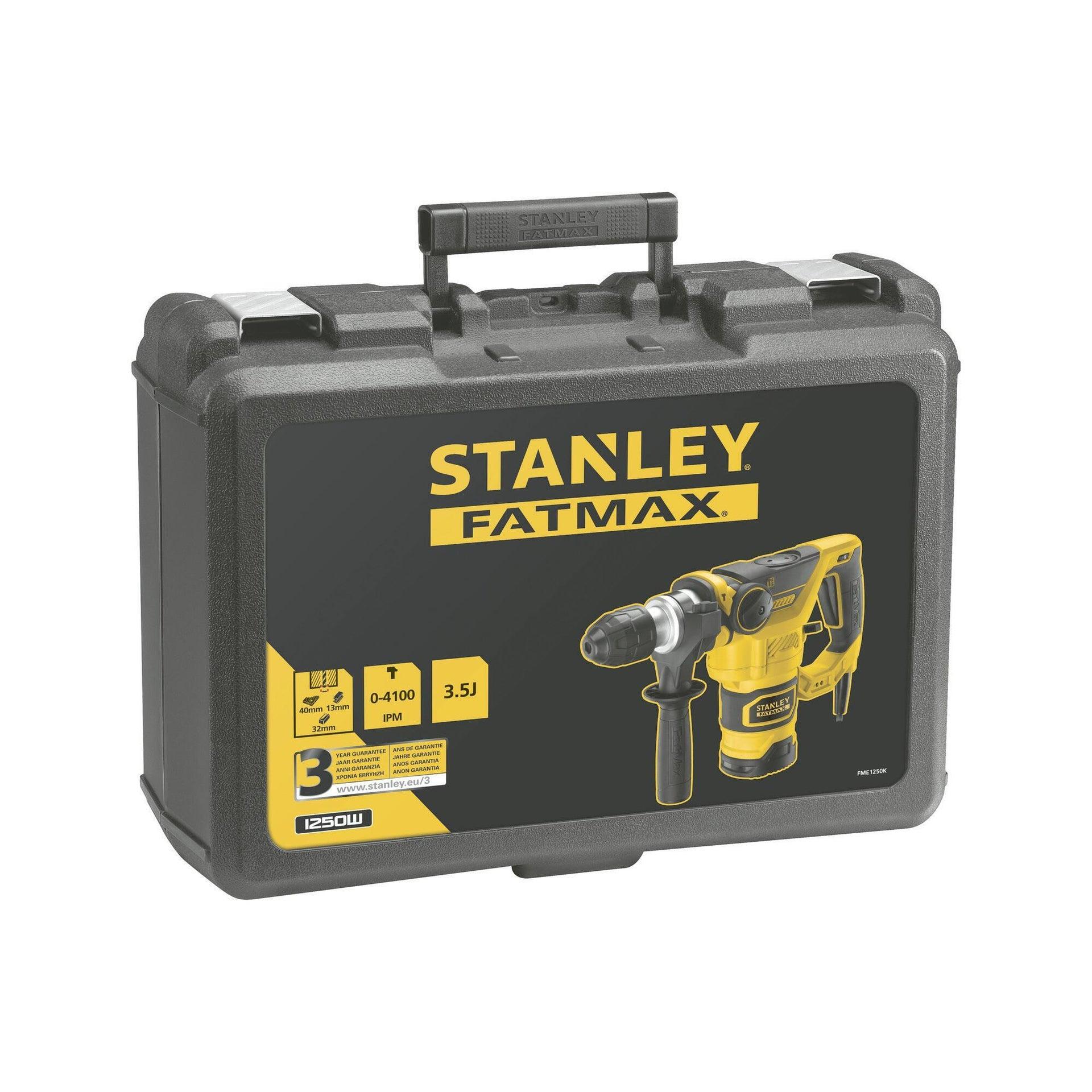 Martello demolitore STANLEY FATMAX FME1250-QS SDS Plus 2200 giri/min 1250 W - 2