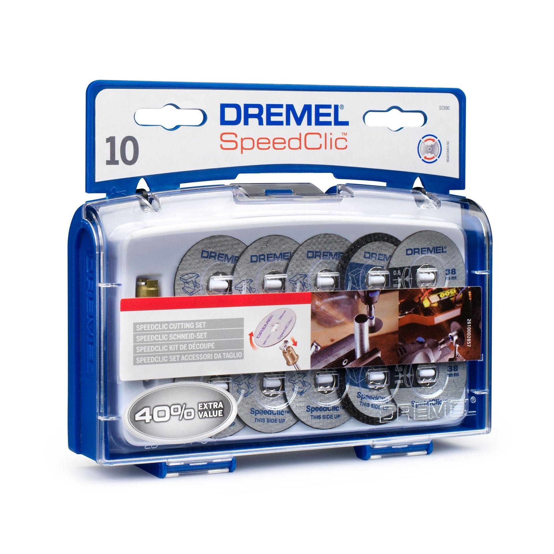 Set dischi DREMEL in metallo , 10 pezzi - 3