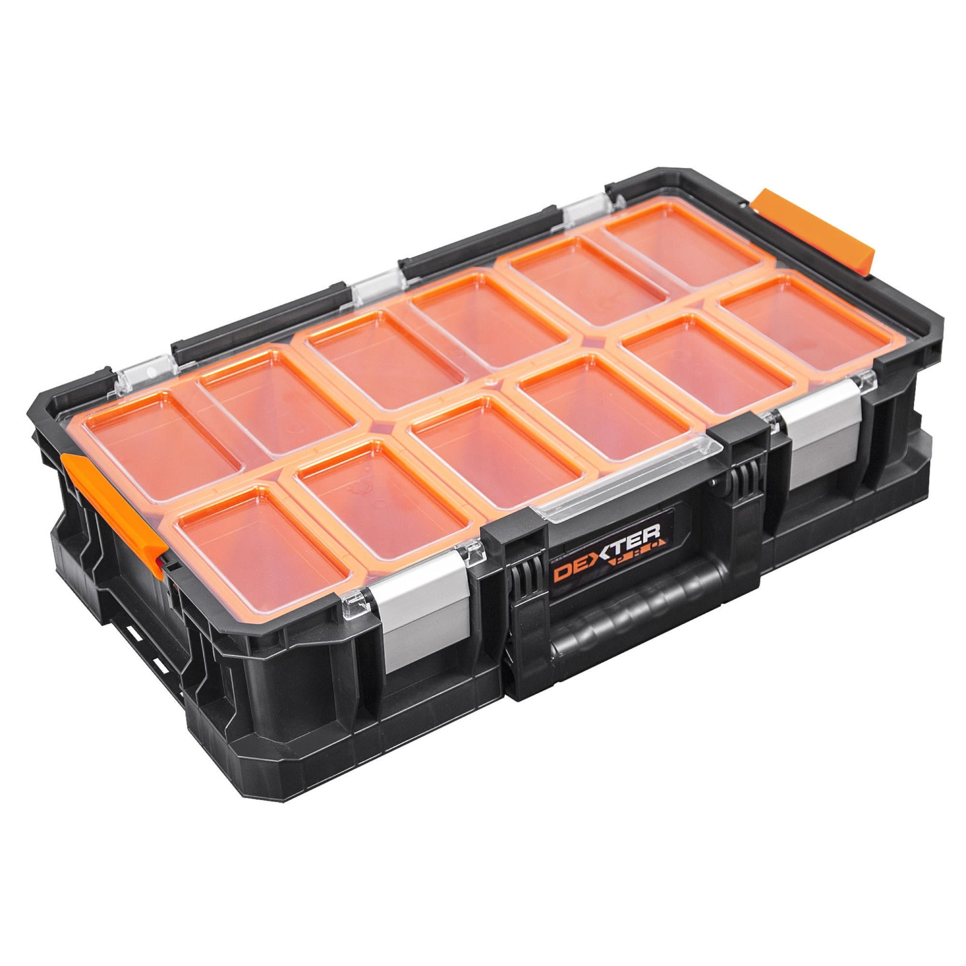 Cassetta attrezzi DEXTER PRO L 31.1 x H 13.2 cm, profondità 546 mm - 2