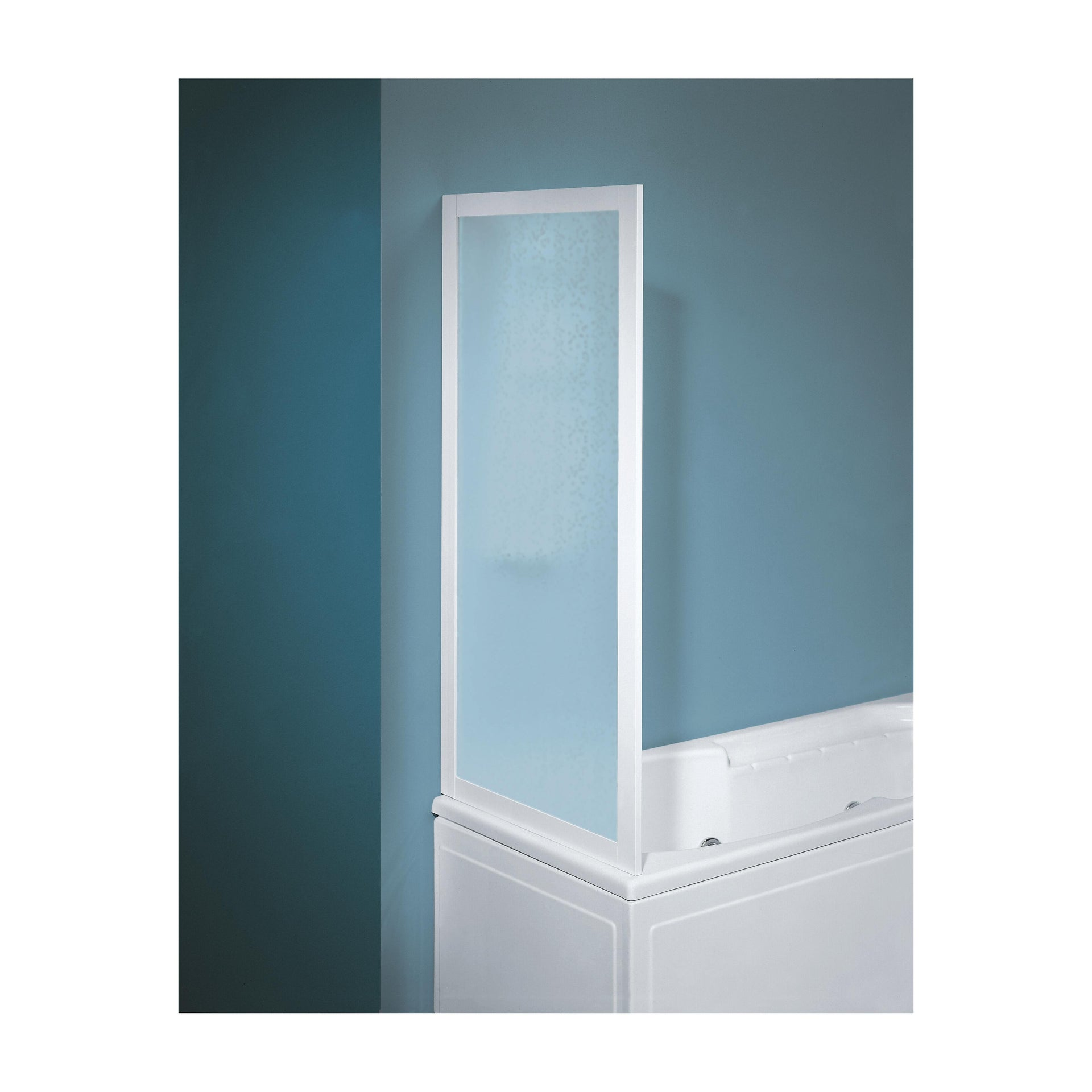 Parete vasca in vetro serigrafato H 135 cm
