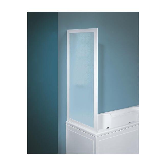Parete vasca in vetro serigrafato H 135 cm - 1
