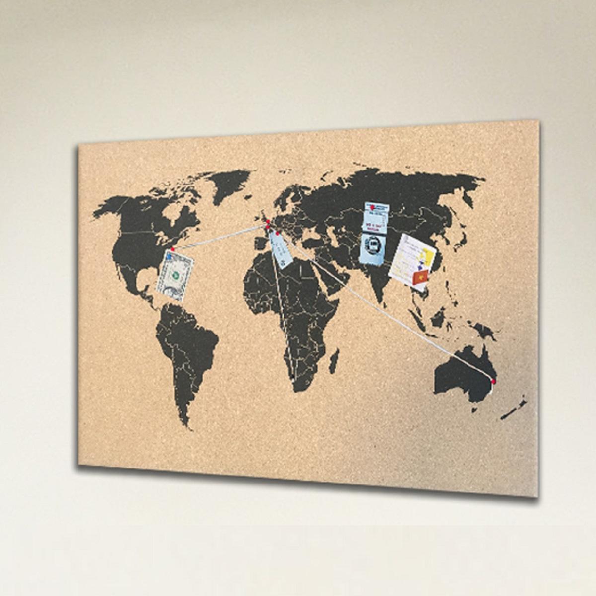 Bacheca World multicolore 60x40 cm - 1
