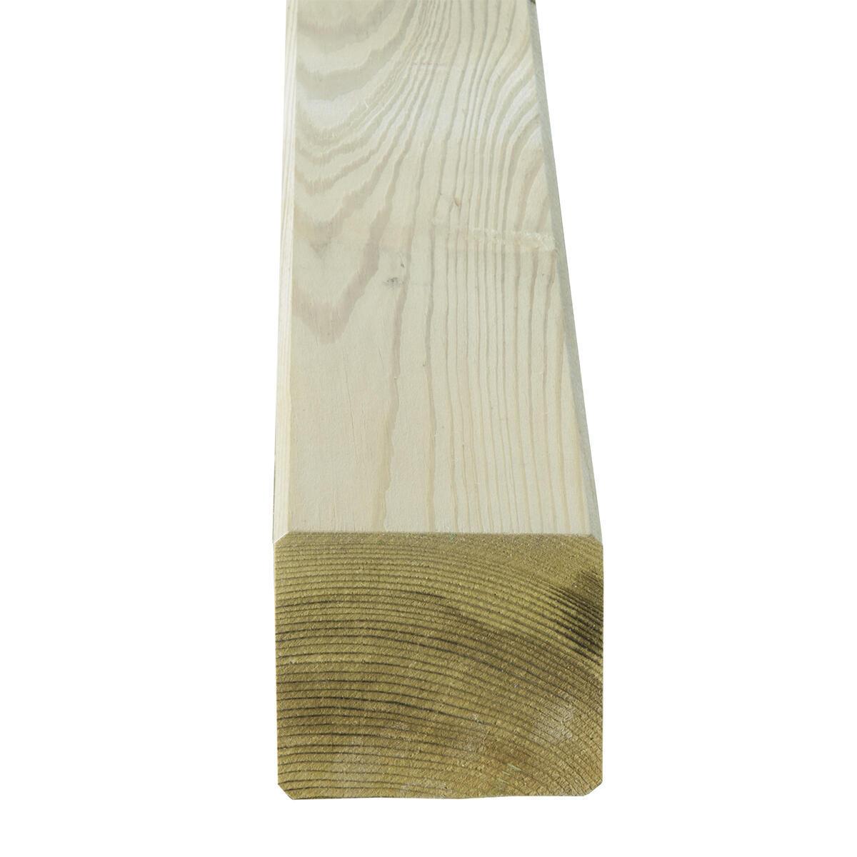 Palo in pino naturale Sp 9 x L 9 x H 240 cm - 2