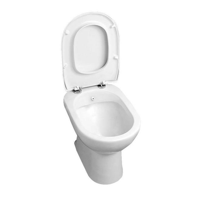 Vaso wc a pavimento diana AZZURRA - 1