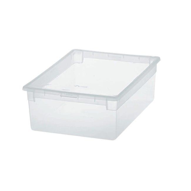 Contenitore Light Box L 27.8 x H 13.2 x P 39.6 cm trasparente - 1