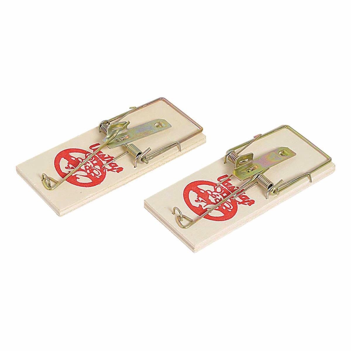Trappola per scarafaggi e topo in legno blister 2 pz