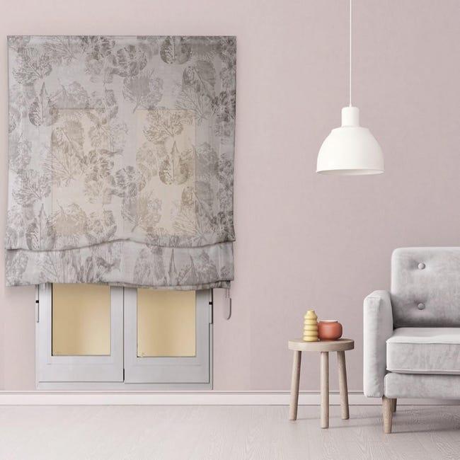 Tenda a pacchetto INSPIRE Fogliabella grigio / argento 165x250 cm - 1