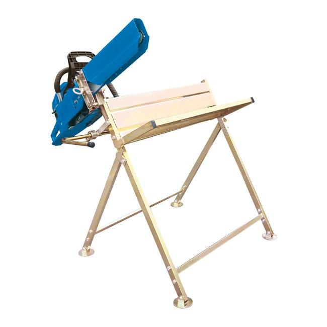 Cavalletto reggi legna in alluminio H 80 cm - 1