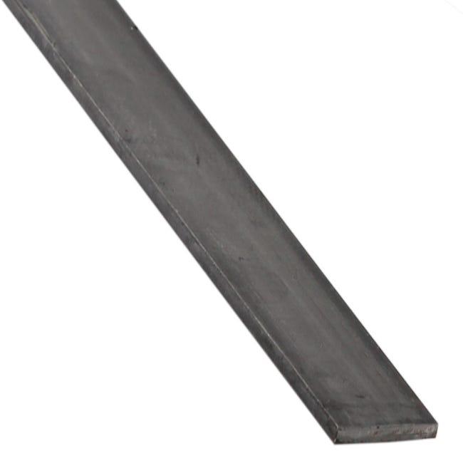 Profilo piatto STANDERS in ferro 1 m x 2 cm nero - 1