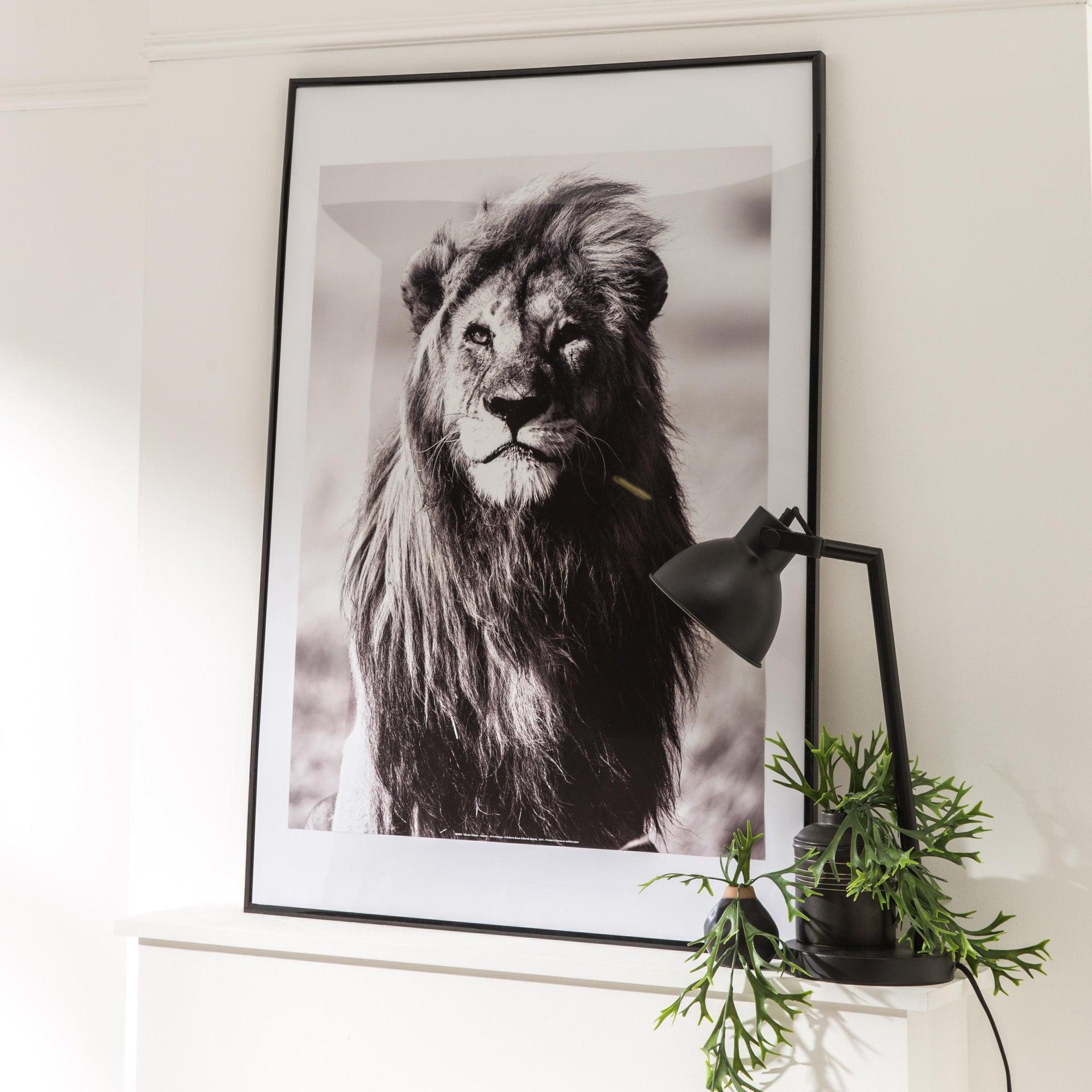Cornice INSPIRE Lila nero per foto da 70x100 cm - 6