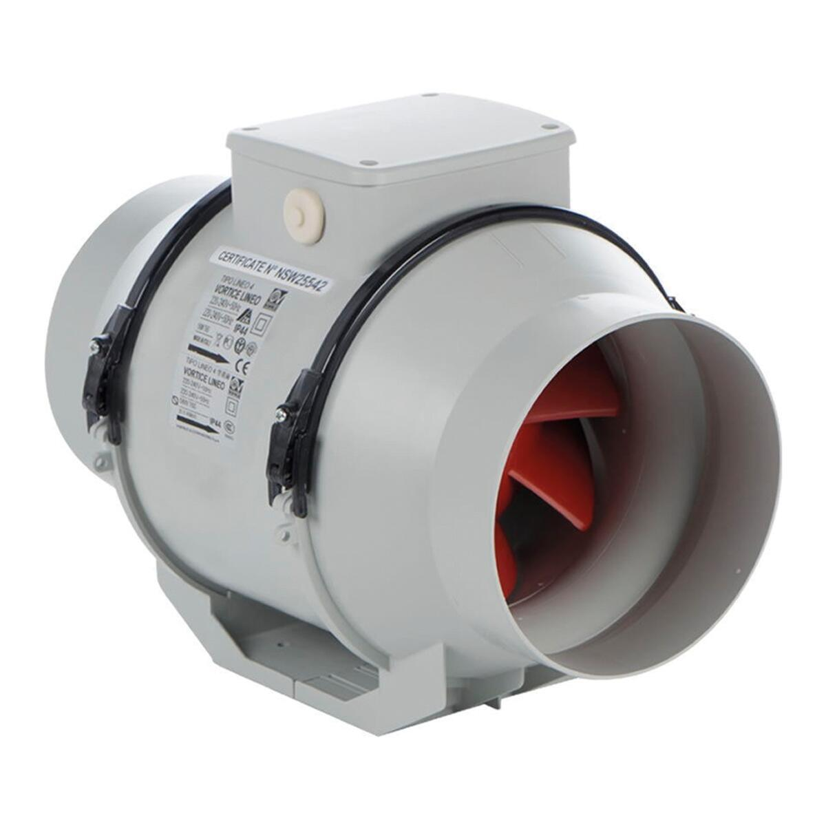Aspiratore VORTICE LINEO 100 V0/1 Ø 100 mm - 1