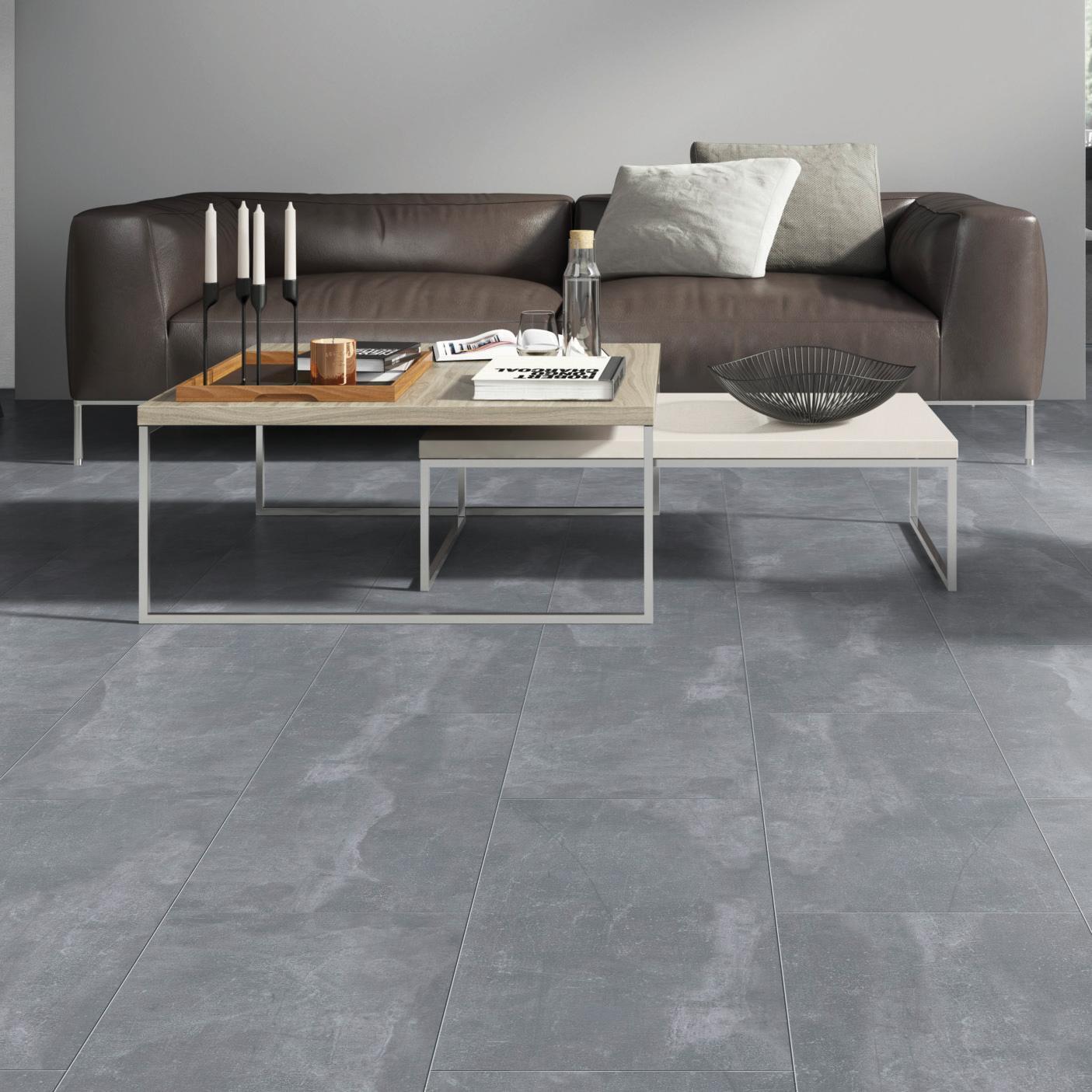 Pavimento SPC flottante clic+ Pietra Nova Industrial Sp 4.5 mm grigio / argento - 3