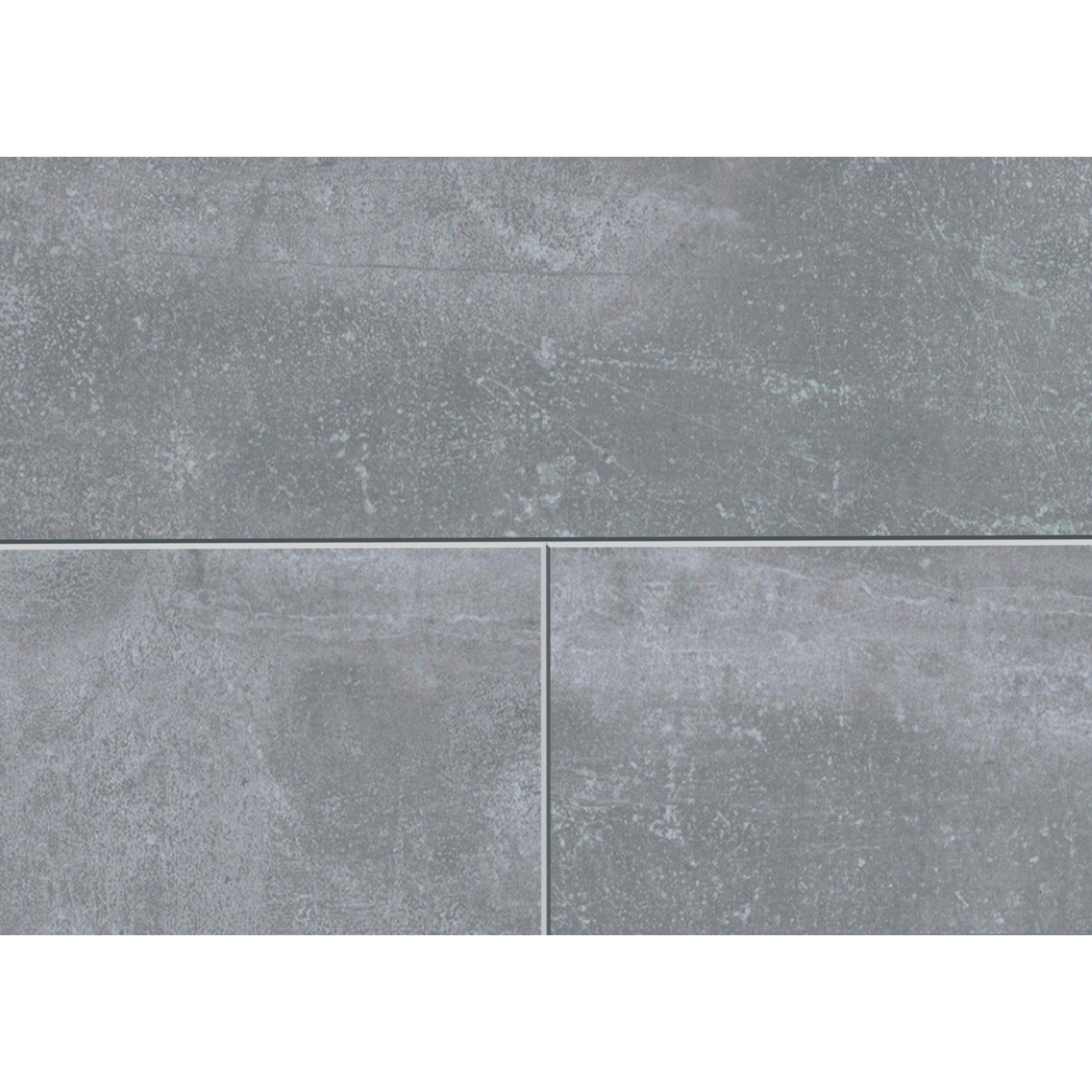 Pavimento SPC flottante clic+ Pietra Nova Industrial Sp 4.5 mm grigio / argento - 6