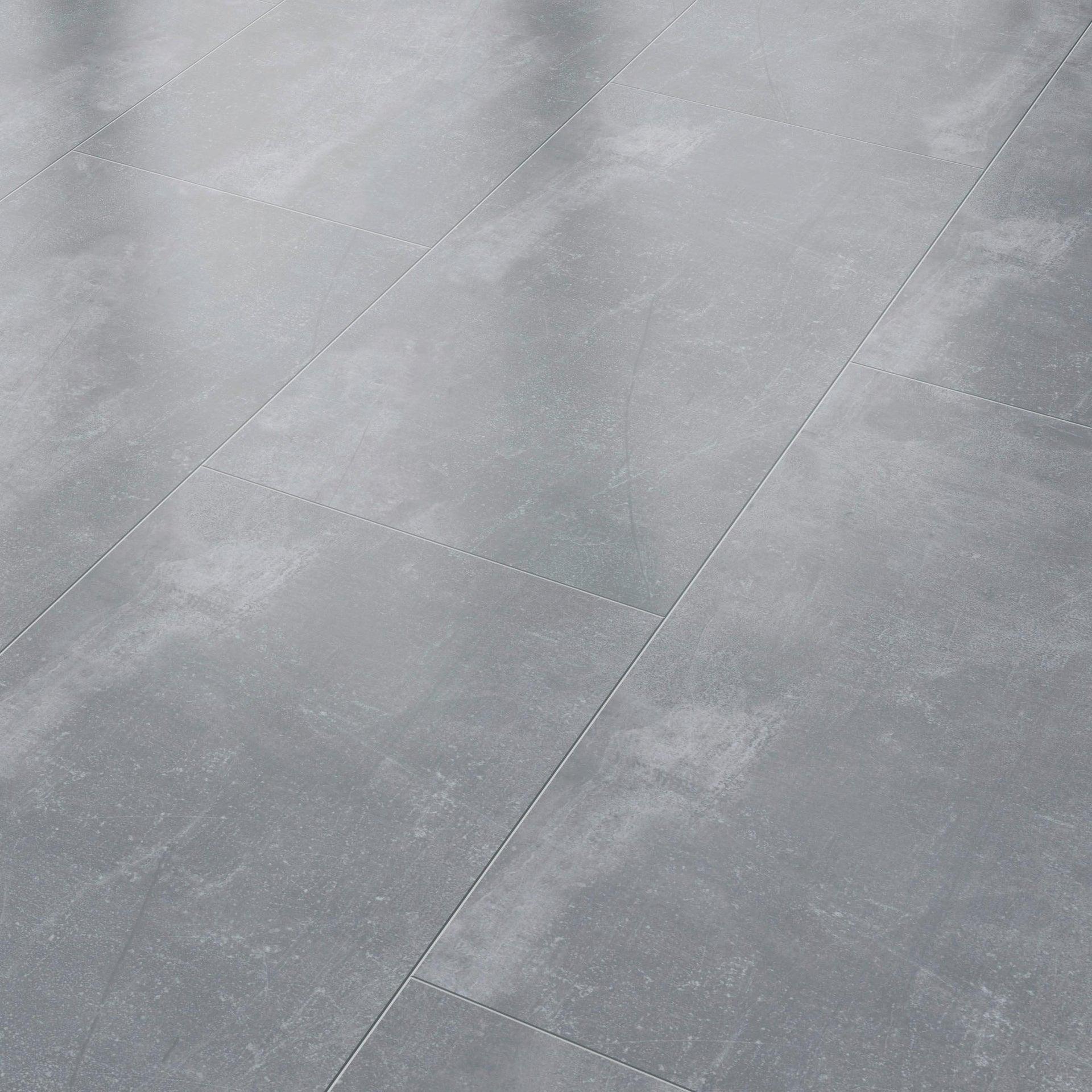 Pavimento SPC flottante clic+ Pietra Nova Industrial Sp 4.5 mm grigio / argento - 2
