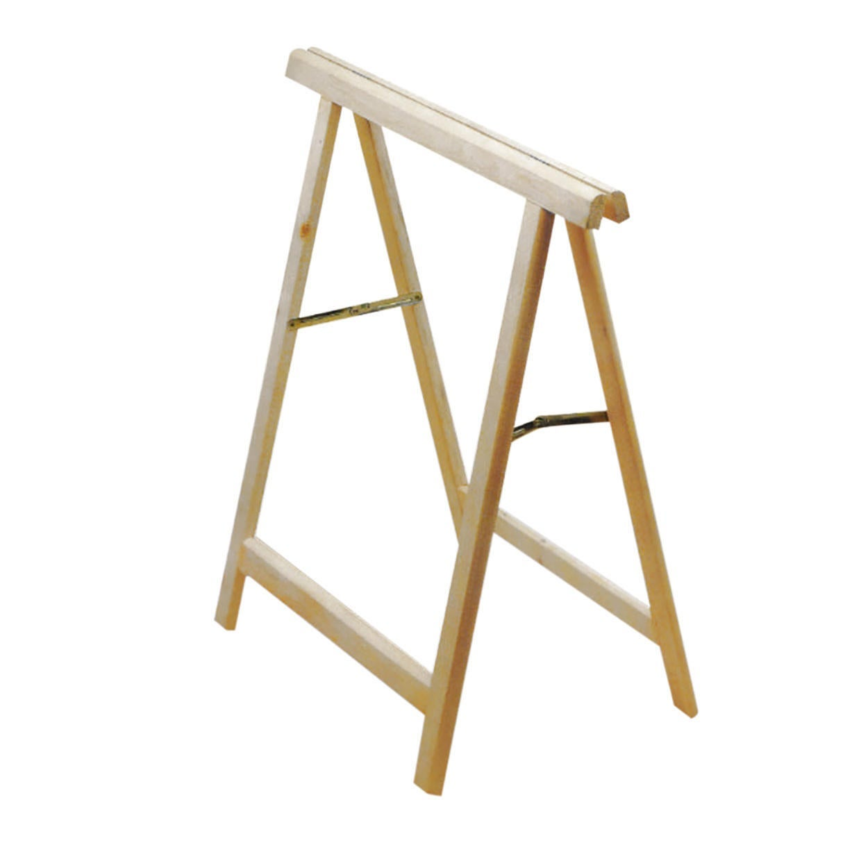 Cavalletto in pino Standard L 73.5 x P 73.5 x H 74 cm legno naturale - 6