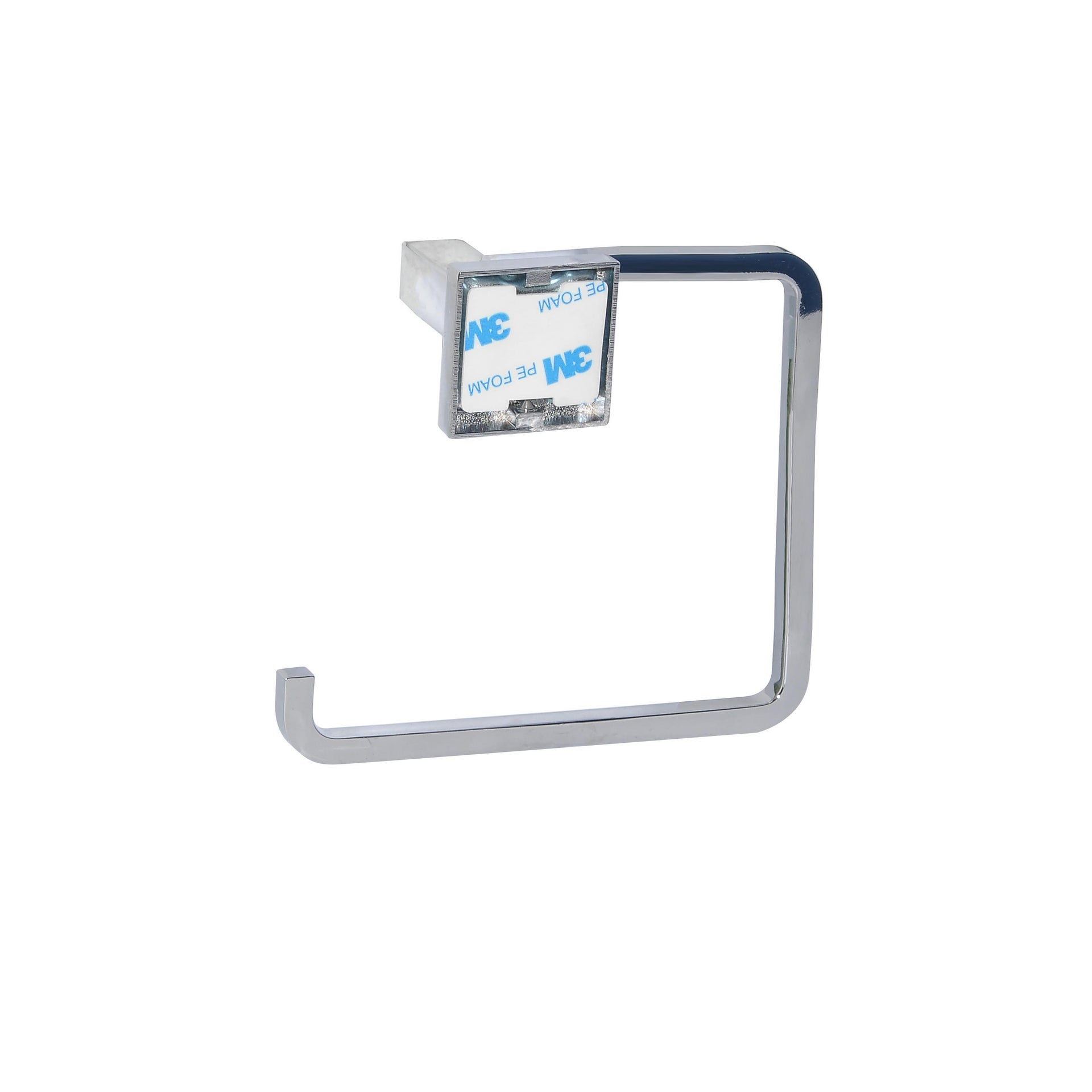 Porta salviette ad anello argento cromo lucido L 14.78 cm - 2