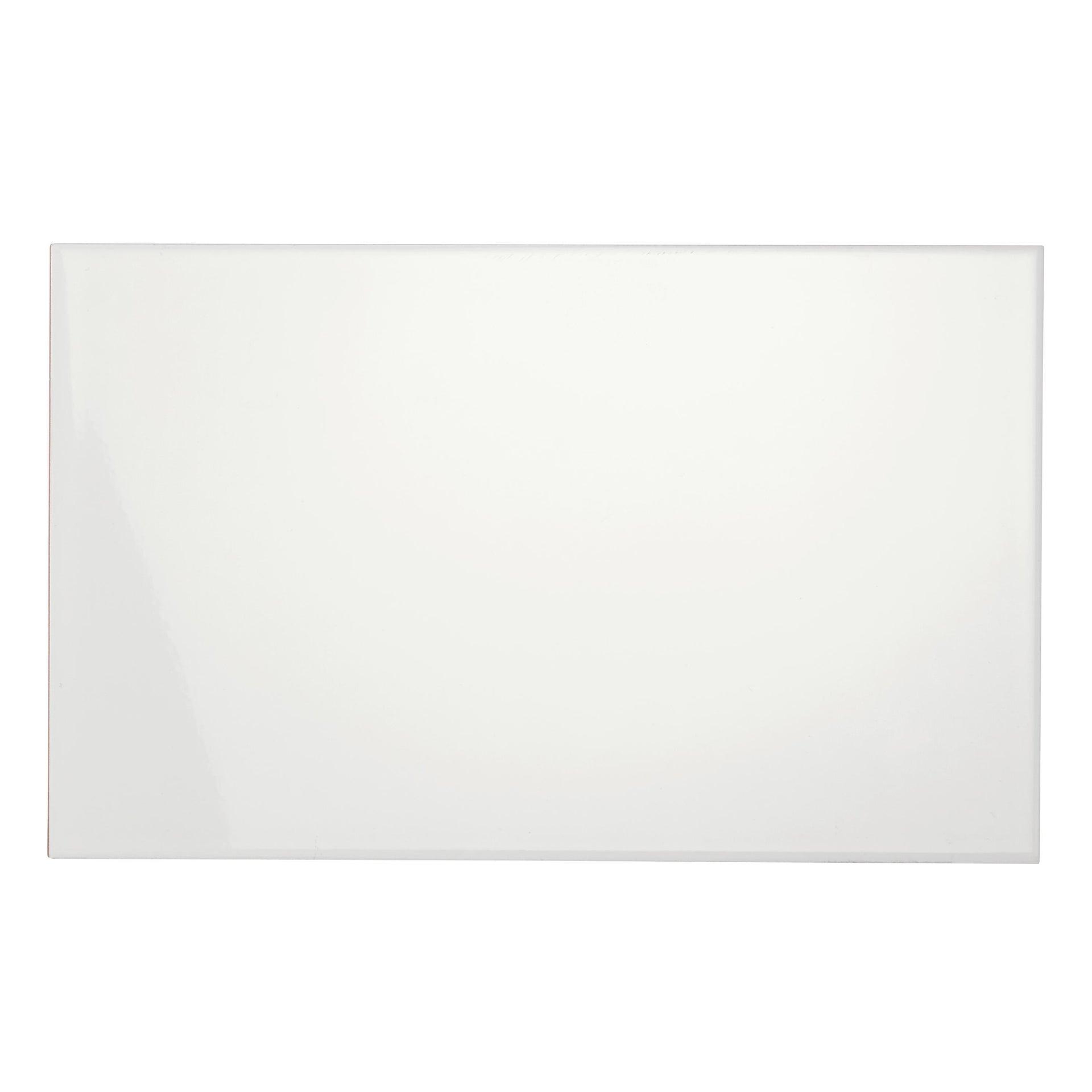 Piastrella per rivestimenti White glossy 25 x 40 cm sp. 8.6 mm bianco - 2