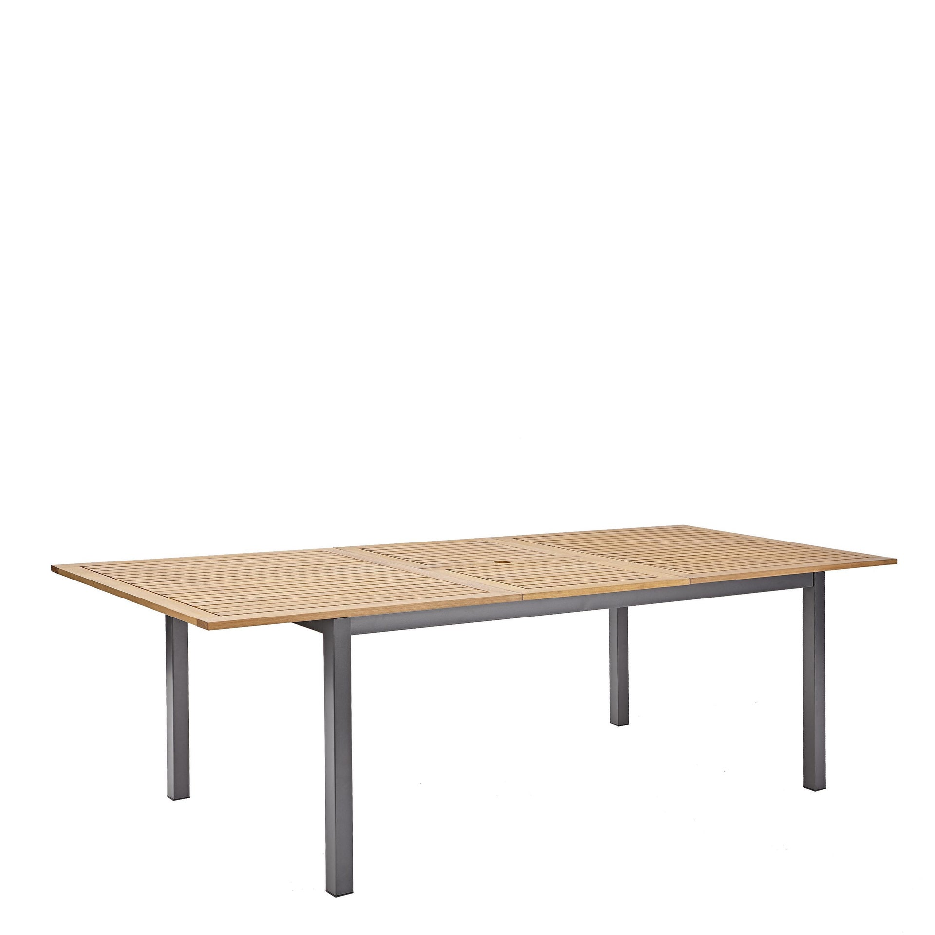Tavolo da giardino allungabile rettangolare Oris NATERIAL con piano in legno L 180/240 x P 98.9 cm - 9