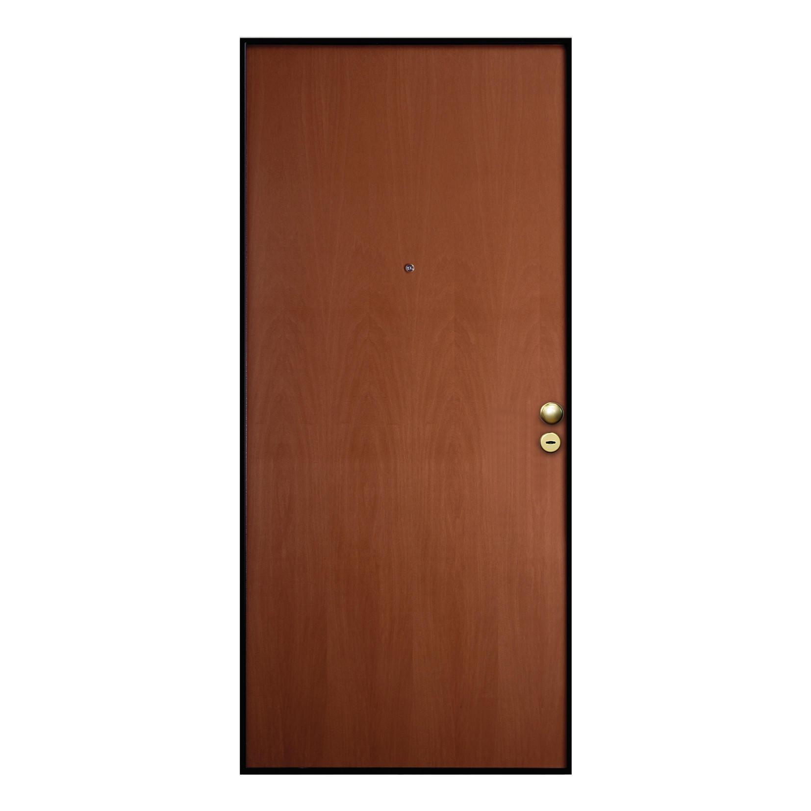 Porta blindata Good noce L 90 x H 210 cm sinistra - 3