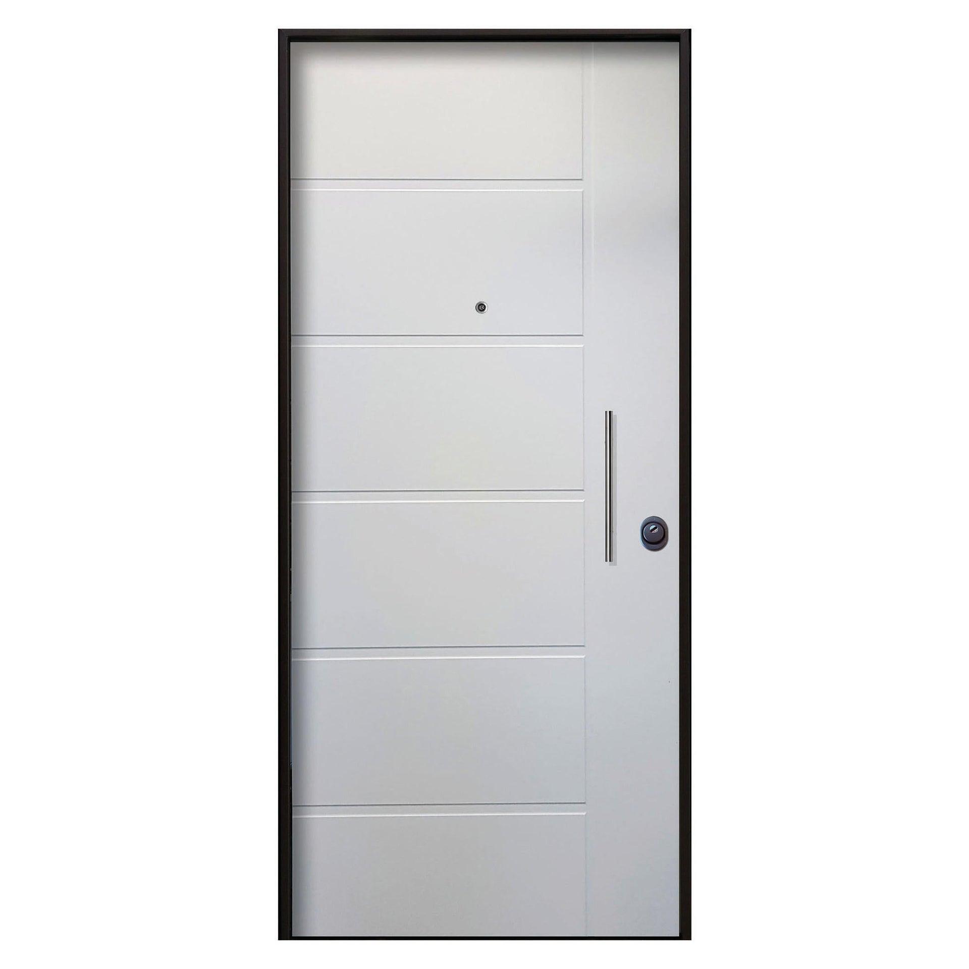 Porta blindata Sweet bianco L 80 x H 210 cm sinistra - 3